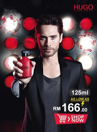 Hugo Red ad